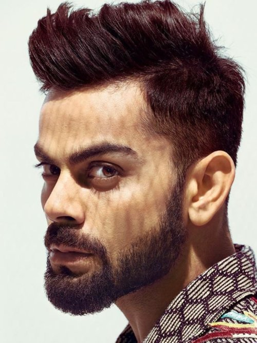 virat kohli hairstyle latest 2019