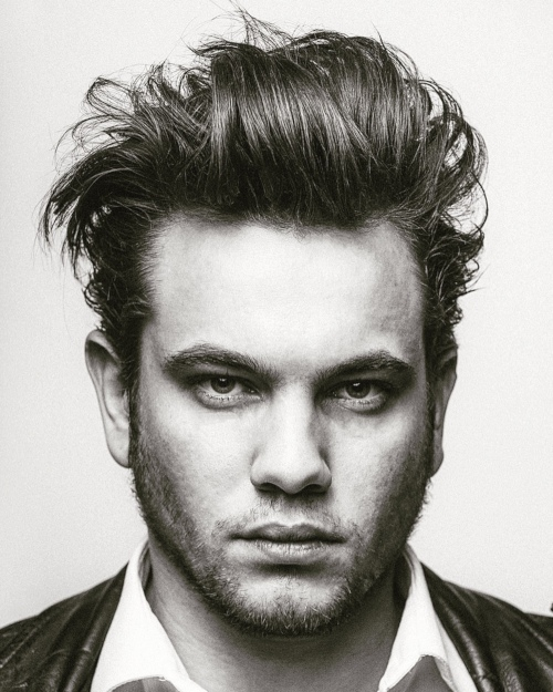 long length fuzzy messy hairstyle mens latest picture