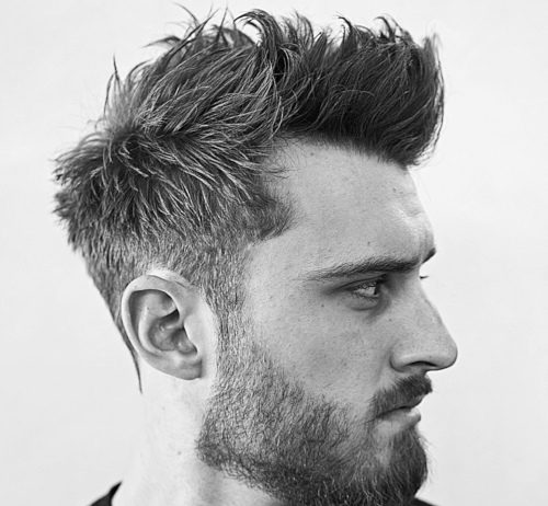 messy hairstyles mens latest 2019 picture with cool beard style messy hairstyles for men